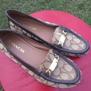 Coach signature Olive loafers